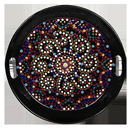 Lancaster Mosaic Mandala Tray