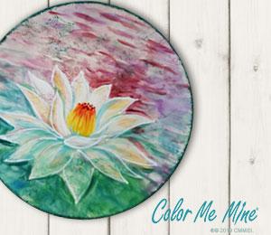 Lancaster Lotus Flower Plate