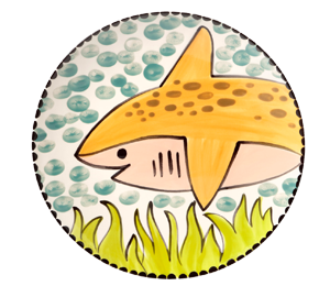 Lancaster Happy Shark Plate