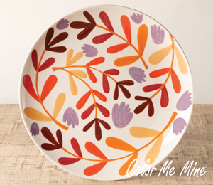 Lancaster Fall Floral Charger
