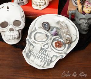 Lancaster Vintage Skull Plate