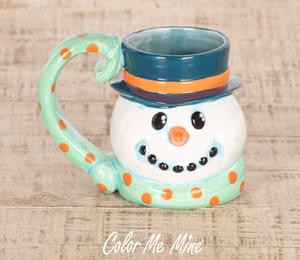 Lancaster Snowman Mug