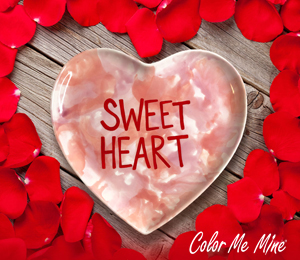 Lancaster Candy Heart Plate