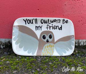 Lancaster Owl Plate