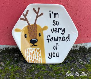 Lancaster Fawn Plate