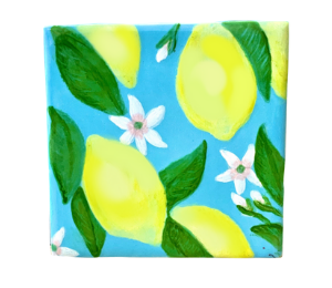 Lancaster Lemon Square Tile
