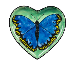 Lancaster Butterfly Plate