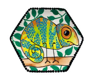 Lancaster Chameleon Plate
