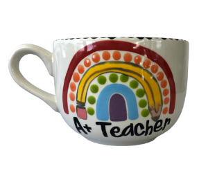 Lancaster Polka Dot Rainbow Mug